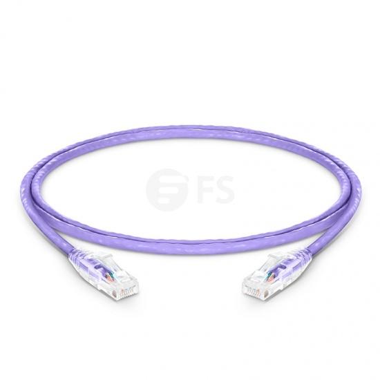 4ft (1.2m) Cat6 Snagless Unshielded (UTP) PVC CM Ethernet Network Patch Cable, Purple