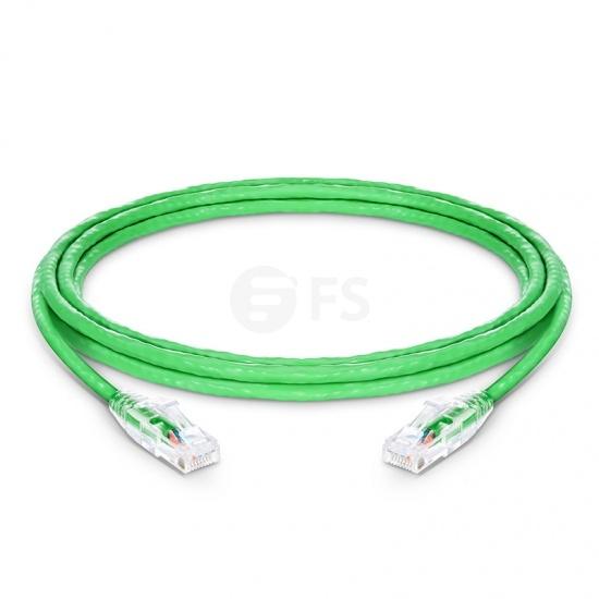 Cat6 Patchkabel, Snagless Ungeschirmtes (UTP) RJ45 LAN Kabel, PVC CM, Grün, 12ft (3,7m)