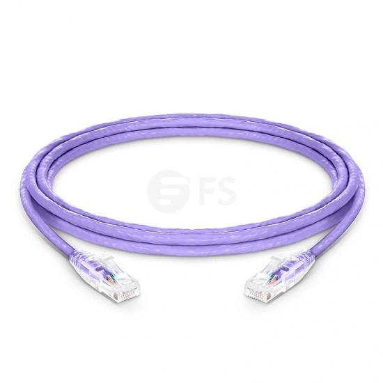 3m Cat6 Ethernet Patch Cable - Snagless, Unshielded (UTP) PVC CM , Purple