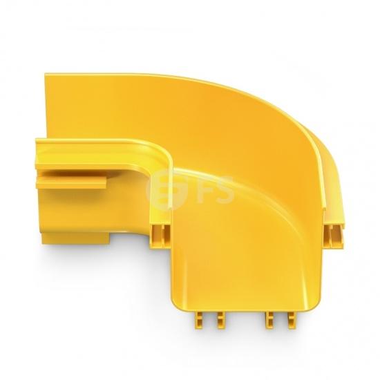 Horizontaler 90° Kanalbogen von Kabelkanal-/Kabelführungs-System, 4