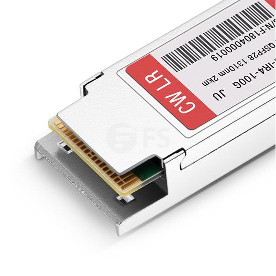 瞻博(Juniper)兼容QSFP-100G-CWDM4 QSFP28光模块 1310nm 2km