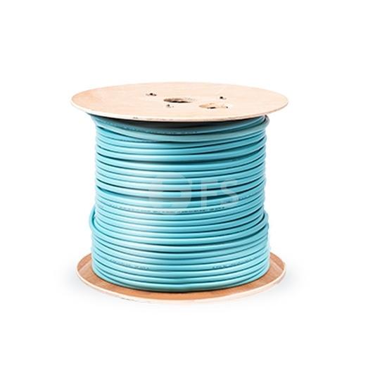 Câble de Distribution à Structure Serrée pour Intérieur Non-unifié, 0,022km 12 Fibres Multimode 50/125 OM4, Plénum, GJPFJV