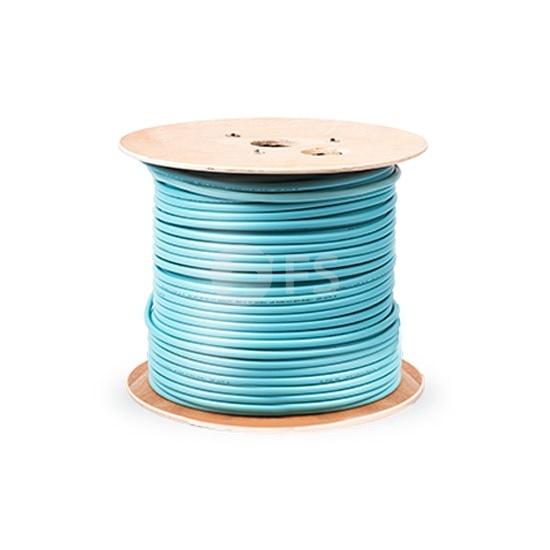 1km 12 fibras multimodo 50/125 OM3, Plenum,Cable GJPFJV para distribución interior con tubo apretado ajustada no unificada