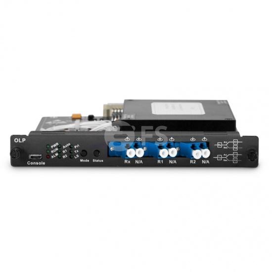 Commutateur de Protection de Liaison Optique (OLP), Module Enfichable pour Transmission Bidirectionnelle de Seule Fibre