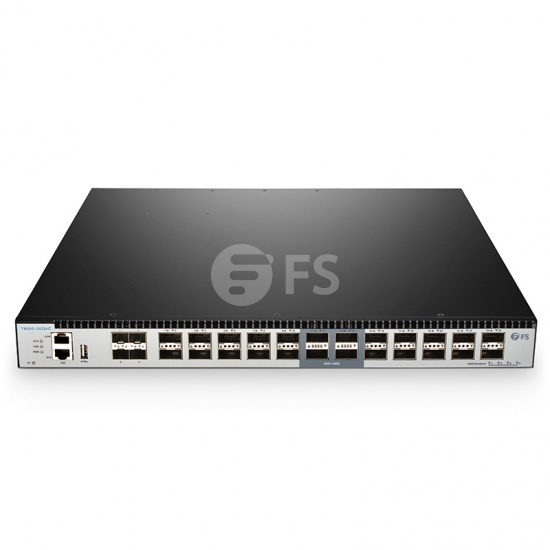T8050-20Q4C 20-Port 40G QSFP+ with 4 100G QSFP28 Ports Network TAP Aggregation