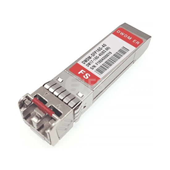 Customized 16G DWDM SFP+ 50GHz 40km DDM Transceiver Module