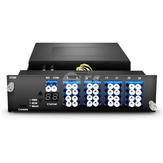 FMTOSW-1x16  1x16マルチチャネルオプトメカニカル光スイッチ(調節可能なチャネル制御付き)