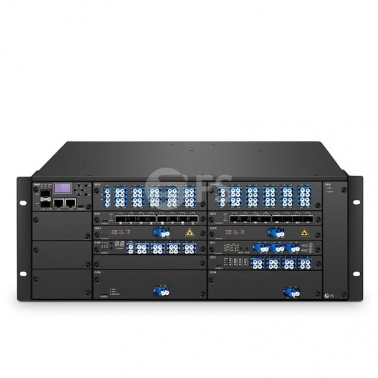 40 Channels DWDM Dual Fiber 100km End-to-End Transport Platform (Set of Two)