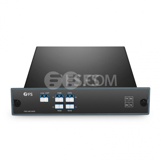 Customised Compact CWDM Mux Demux, 2.2dB Max IL, Single Fibre, Side-B
