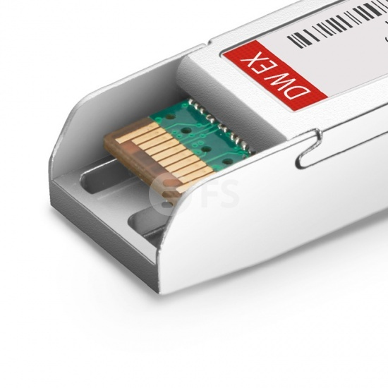 中性(Generic)兼容  C18 1000BASE-DWDM SFP光模块 100GHz 1563.05nm 40km DOM