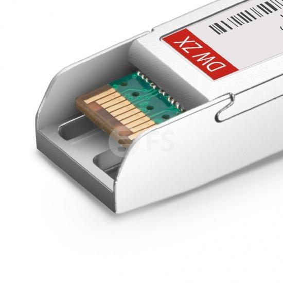 中性(Generic)兼容  C18 1000BASE-DWDM SFP光模块 100GHz 1563.05nm 80km DOM