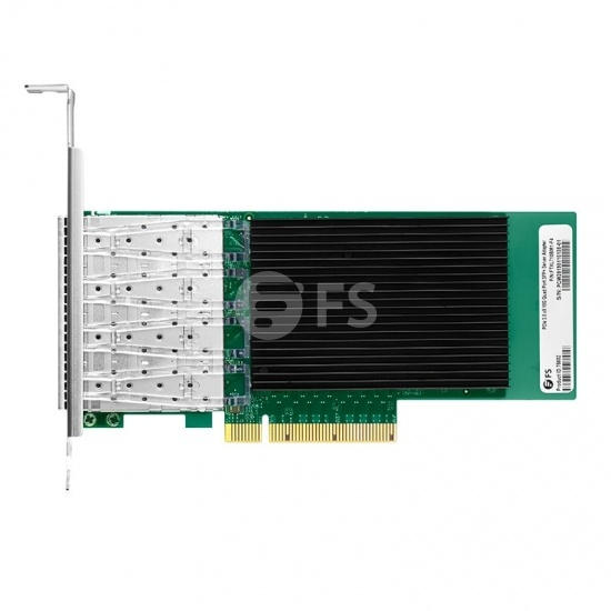 Intel XL710-BM1 Quad-Port 10 Gigabit SFP+ PCIe 3.0 x8, Ethernet Network Interface Card