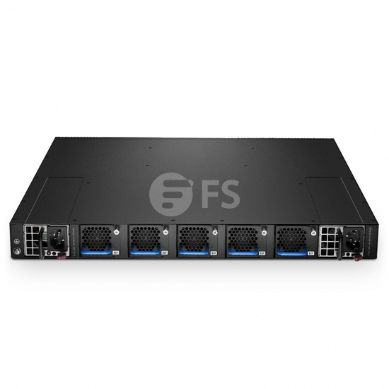 N5850-48S6Q 10G ToR/Leaf SDN交换机(48 * 10G + 6 * 40G) ,内置Cumulus®Linux®操作系统,5年质保