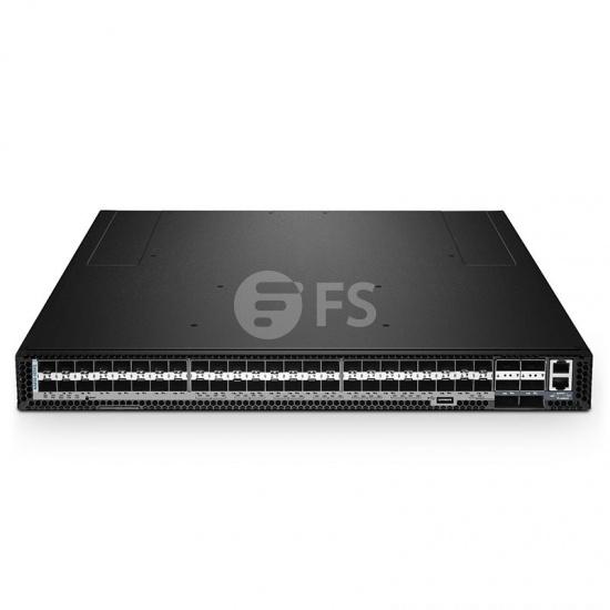N5850-48S6Q 48ポート 10Gb SFP+ データセンターマネージイーサネット ホワイトボックスL3スイッチ(48x 10Gb SFP+、6×40Gb QSFP+アップリンク付き、1年間のCumulus Linux OSを搭載)