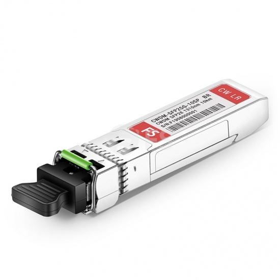 Módulo transceptor CWDM SFP28 25G compatible con Brocade CWDM-SFP25G-10SP, 1310nm 10km DOM