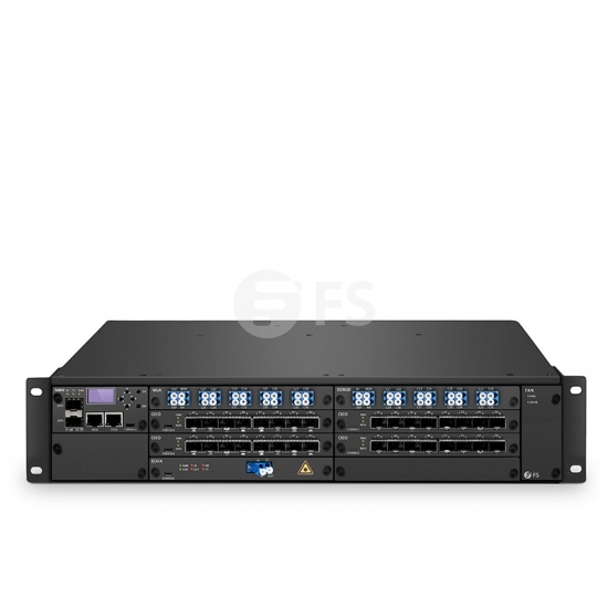 16 Channels DWDM Dual Fiber 60km End-to-End Transport Platform (Set of Two)