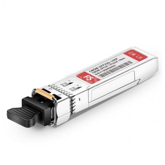 Cisco CWDM-SFP25G-1370-10 Compatible 25G 1370nm CWDM SFP28 10km DOM LC SMF Optical Transceiver Module