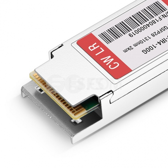 F5网络(F5 Networks)兼容 F5-UPG-QSFP28-IR4 QSFP28光模块 1310nm 2km