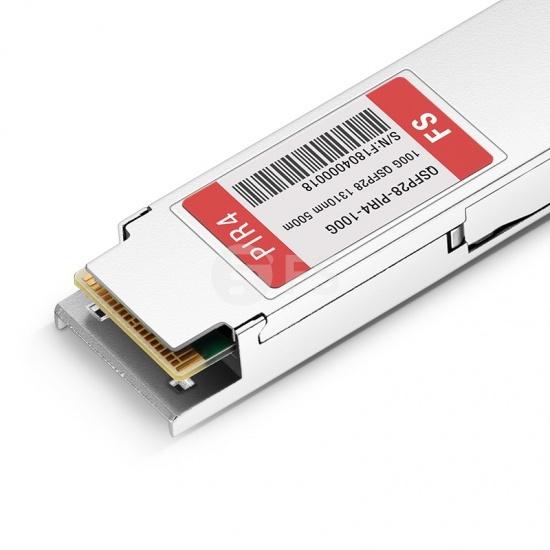 飞塔(Fortinet)兼容 FG-TRAN-QSFP28-PIR4 QSFP28光模块 1310nm 500m