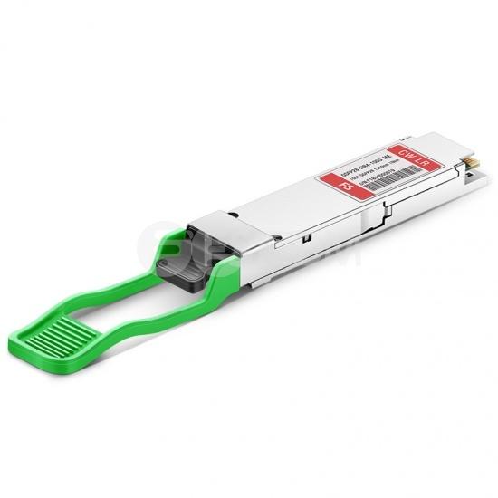 FS for Mellanox QSFP28-EIR4-100G Compatible 100GBASE-4WDM-10 QSFP28 1310nm 10km DOM Optical Transceiver Module