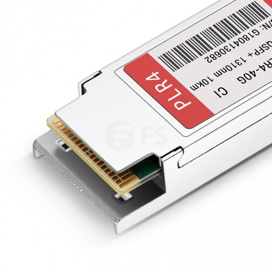 讯远(Ciena)兼容 QSFP-PLR4  QSFP+光模块 1310nm 10km MTP/MPO
