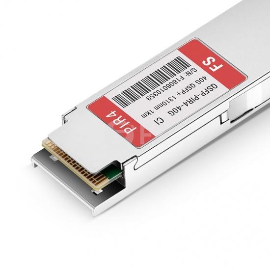 讯远(Ciena)兼容 QSFP-PIR4  QSFP+光模块 1310nm 1.4km MTP/MPO
