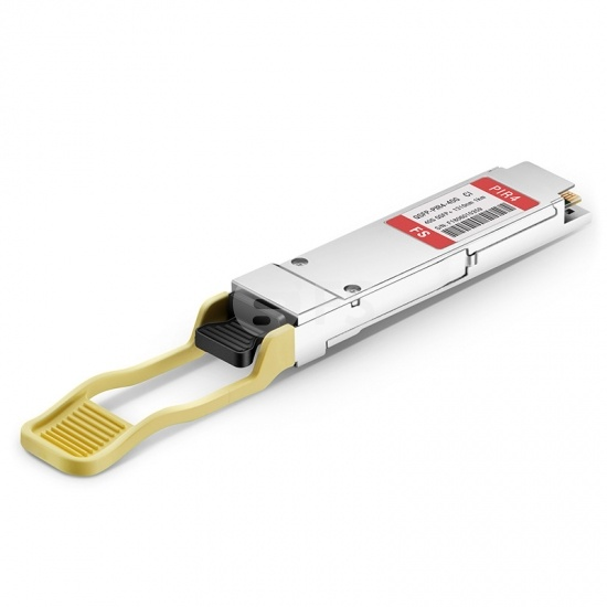 Ciena QSFP-PIR4 Compatible 40GBASE-PLRL4 QSFP+ 1310nm 1.4km DOM MTP/MPO SMF Optical Transceiver Module