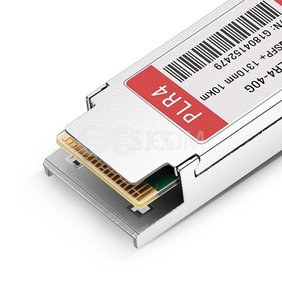 友讯(D-Link)兼容 DEM-QX10Q-PLR4  QSFP+光模块 1310nm 10km MTP/MPO
