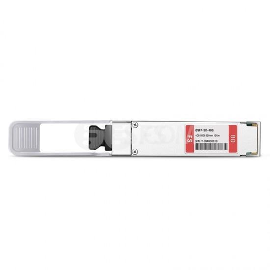 友讯(D-Link)兼容 DEM-QX01Q-SR-BD  BiDi QSFP+双纤双向光模块