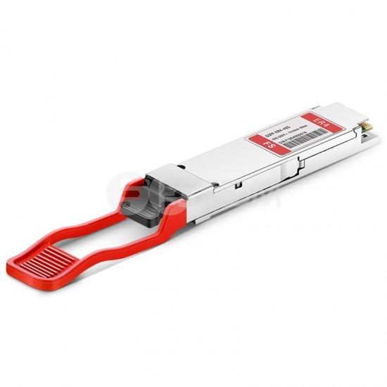 Módulo transceptor compatible con D-Link DEM-QX40Q-ER4, 40GBASE-DEM-QX40Q-ER4 y OTU3 QSFP+ 1310nm 40km LC DOM