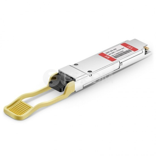 Fortinet FG-TRAN-QSFP+IR Compatible 40GBASE-LR4L QSFP+ 1310nm 2km DOM LC SMF Optical Transceiver Module