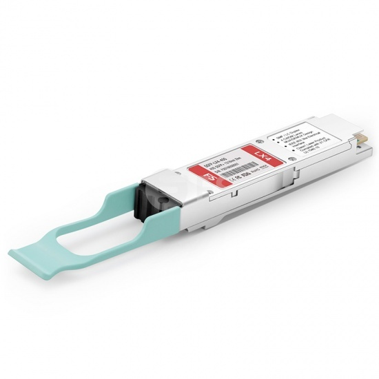 FS for Mellanox QSFP-LX4-40G Compatible 40GBASE-QSFP-LX4 QSFP+ 1310nm 2km LC DOM Optical Transceiver Module for SMF/MMF