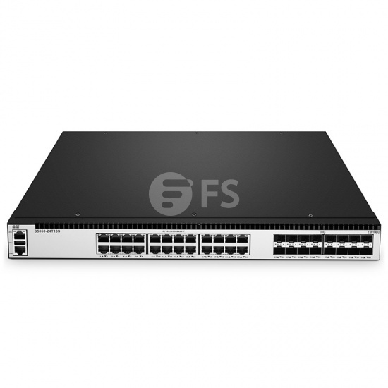 S5850-24T16S 24-Port 10/100/1000BASE-T Gigabit L3 Managed Ethernet Switch with 16 10Gb SFP+ Uplinks for Hyper-Converged Infrastructure