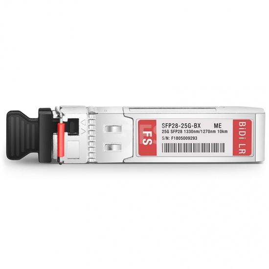 迈络思(Mellanox)兼容SFP28-25G-BX  25G BiDi SFP28单纤双向光模块 1330nm-TX/1270nm-RX 10km DOM