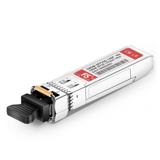 HW CWDM-SFP25G-1370-10 Compatible 25G CWDM SFP28 1370nm 10km DOM LC SMF Optical Transceiver Module