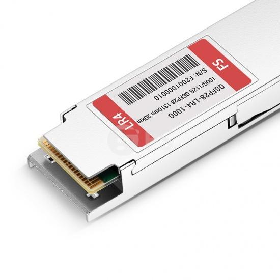 定制100GBASE-LR4 & 112GBASE-OTU4 双速率QSFP28光模块 1310nm 20km