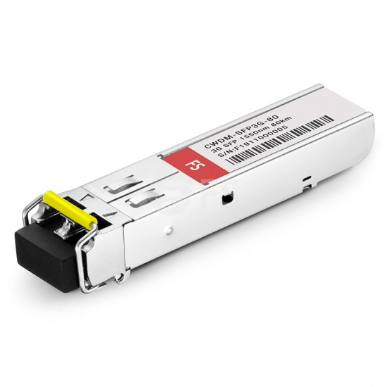 3Gb/s MSA CWDM SFP 1550nm 80km DOM LC SMF Transmitter & Receiver Video Pathological Patterns Transceiver for SD/HD/3G-SDI