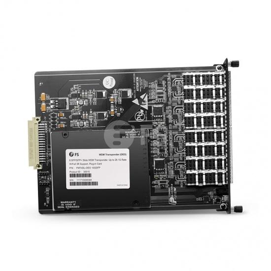 4通道 25G WDM SFP28/SFP+ OEO光放大中继器/转换器