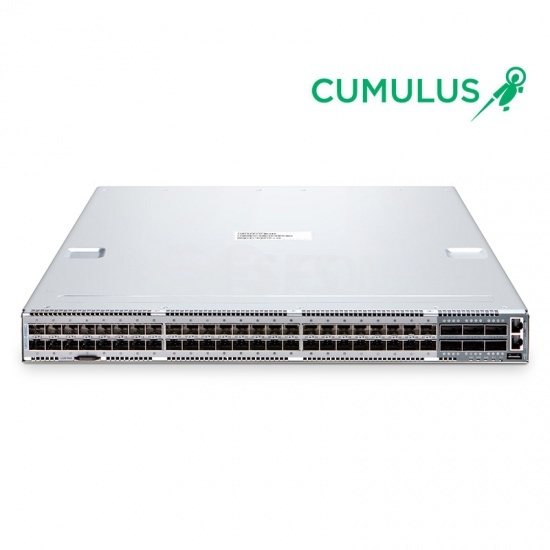 N8500-48B6C (48*25Gb+6*100Gb) 25Gb L2/L3 SDN Switch with Cumulus® Linux® OS for 3 Years