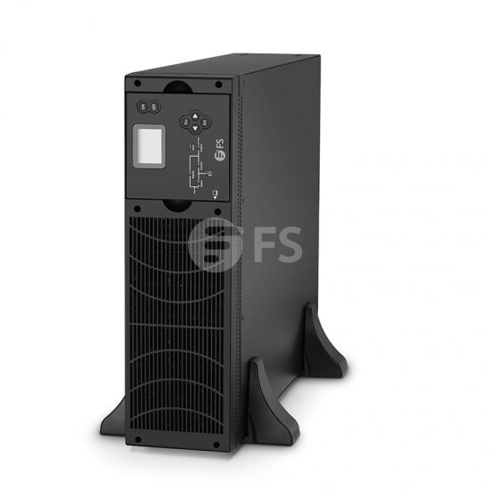 9kW/10kVA ,230V 单相双变换在线式UPS不间断电源,不含电池,机架式&塔式