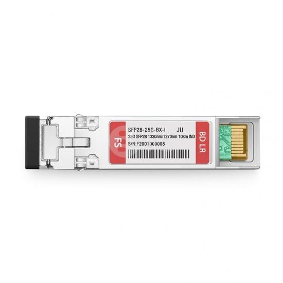 瞻博(Juniper)兼容SFP28-25G-BX-I  25G BiDi SFP28单纤双向光模块 1330nm-TX/1270nm-RX 10km DOM