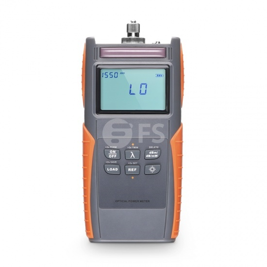 FOPM-203 Handheld Optical Power Meter (-70~+10dBm) with 2.5mm FC/SC/ST Connector