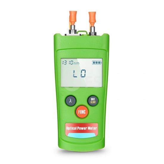 Medidor de potencia óptica FHOM-202 + localizador de fallos visuales con conector universal de 2,5 mm