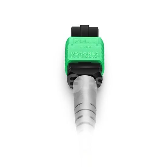 2m 8芯MTP(母)-4*LC/UPC  双工单模OS2分支光纤跳线,极性B,低插损,LSZH