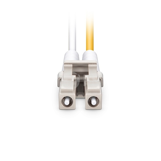 1.5m LC/UPC-LC/UPC万兆双工多模OM3光纤跳线 - 2.0mm PVC(OFNR)