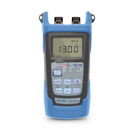 Source Optique Portable EXFO FLS-600 (850/1300nm) avec Connecteur UPC/SC de 2,5mm
