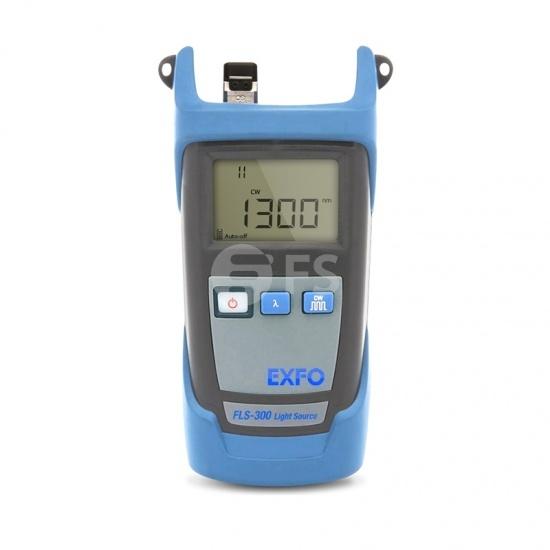 Fuente de luz de fibra óptica portátil EXFO FLS-300 (850/1300nm) con conector SC de 2,5 mm