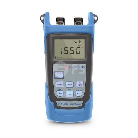 Source Optique Portable EXFO FLS-600 (1310/1550nm) avec Connecteur UPC/SC de 2,5mm