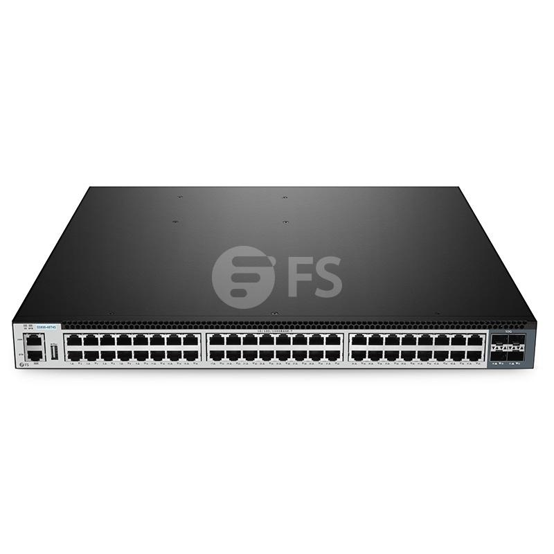 S5800-48T4S, 48-Port Gigabit Ethernet L3 Fully Managed Plus Switch, 48 x Gigabit RJ45, with 4 x 10Gb SFP+ Uplinks