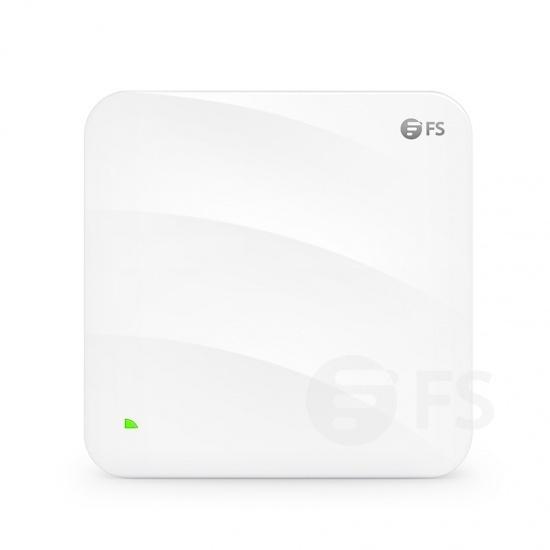 AP-W6T6817C, punto de acceso inalámbrico Wi-Fi 6 802.11ax 6817 Mbps, itinerancia continua y 4x4 MU-MIMO Tri-Band, administrable via el controlador FS o independiente (inyector PoE incluido)